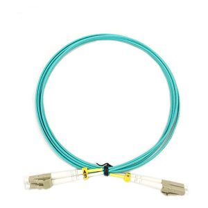 Fiber Optic Cable Assembly of 1 Meter length OM4 Zipcord PVC